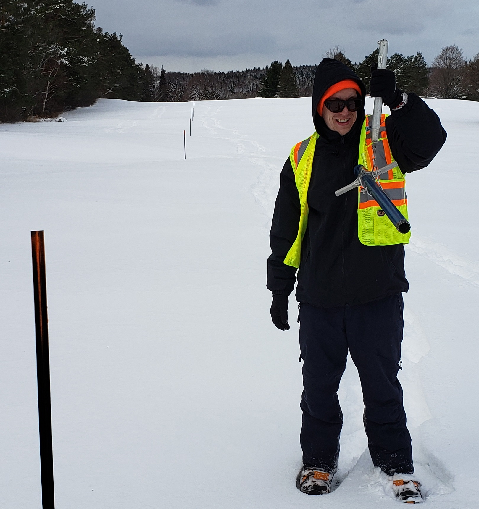 Snow depth way above average for this time of year says Authority