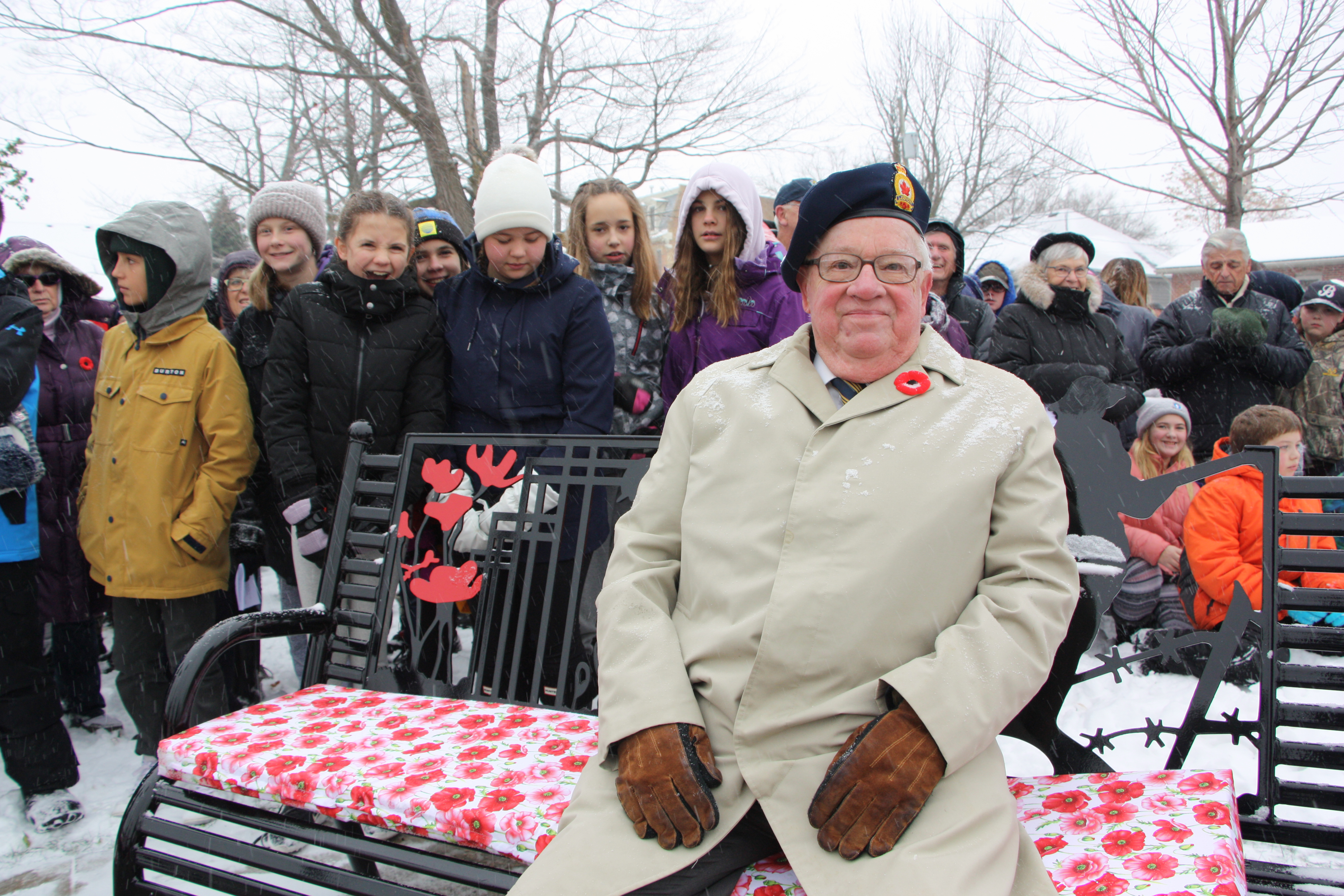 Collingwood remembers today as crowd packs museum grounds for cenotaph service (35 photos) - CollingwoodToday