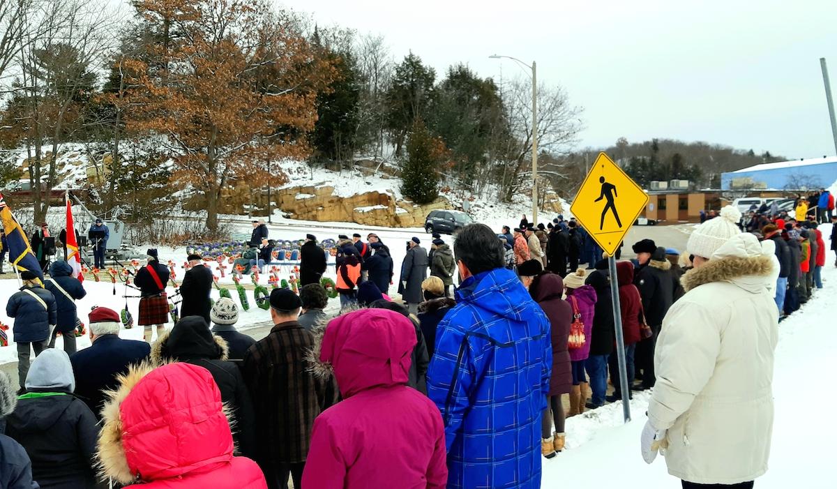 Elliot Lake gathers to mark Remembrance Day (11 photos) - ElliotLakeToday.com