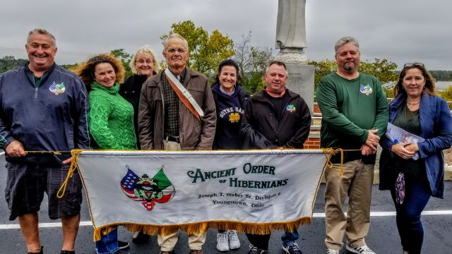 Hibernians participate in Our Lady of Fatima Rosary Walk - MahoningMatters.com