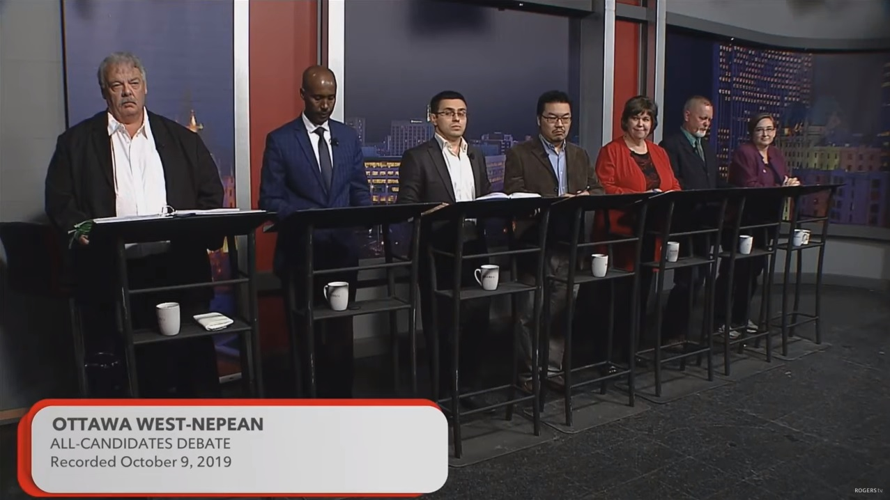 WATCH: Federal election 2019 Ottawa West-Nepean all-candidates debate - OttawaMatters.com