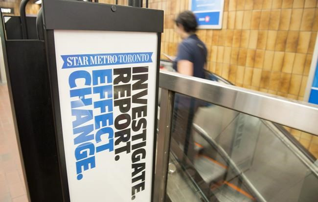 Torstar to close StarMetro national free newspapers, cutting more than 100 jobs