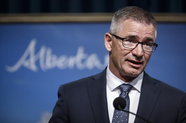 Alberta government firing election commissioner who was investigating leadership
