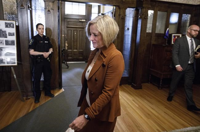 Notley kicked out of legislature for comment on election watchdog firing bill