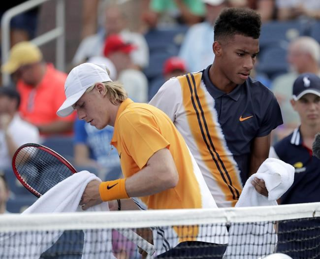 Shapovalov and Auger-Aliassime set to anchor Canadian side at Davis Cup Finals