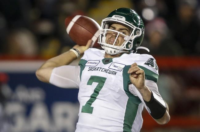 Roughriders QB Cody Fajardo to play in West final against Blue Bombers