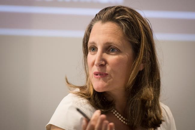 Freeland's imprint of foreign affairs remains even if she's shuffled: analysts
