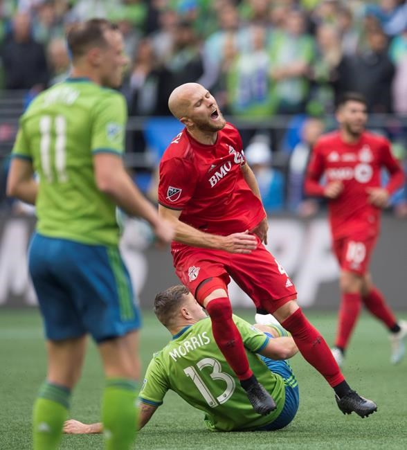 Toronto FC captain Michael Bradley misses out on U.S. games with ankle injury