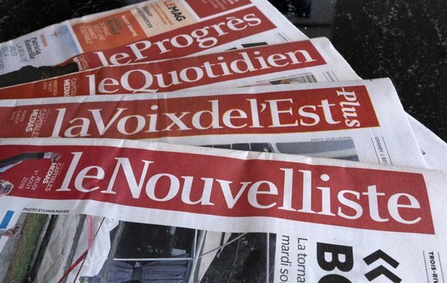 Employee takeover of insolvent Quebec media group at risk of collapse