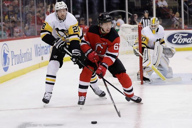 Mackenzie Blackwood stops 38 shots; Devils top Penguins 2-1 - GuelphToday