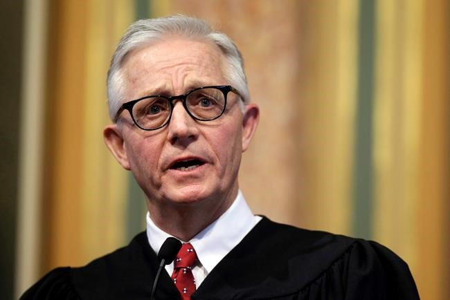 Iowa Supreme Court Chief Justice Mark Cady dies unexpectedly