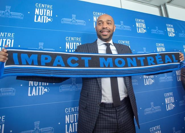 Thierry Henry excited to start coaching Montreal Impact