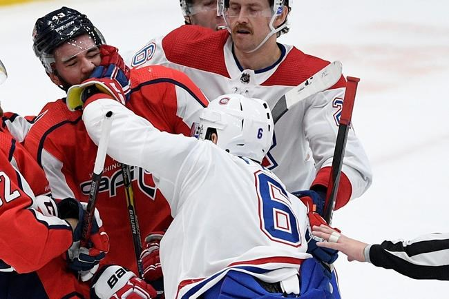 Canadiens respond to Ovechkin hit with scoring flurry