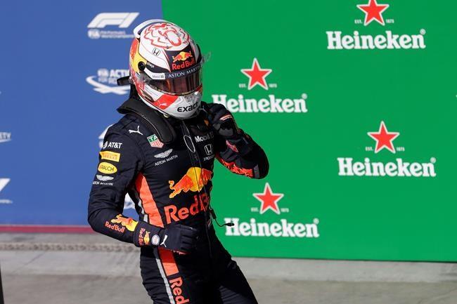 Red Bull's Max Verstappen takes pole at Brazilian GP