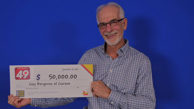 Garson man claims $50K lottery prize