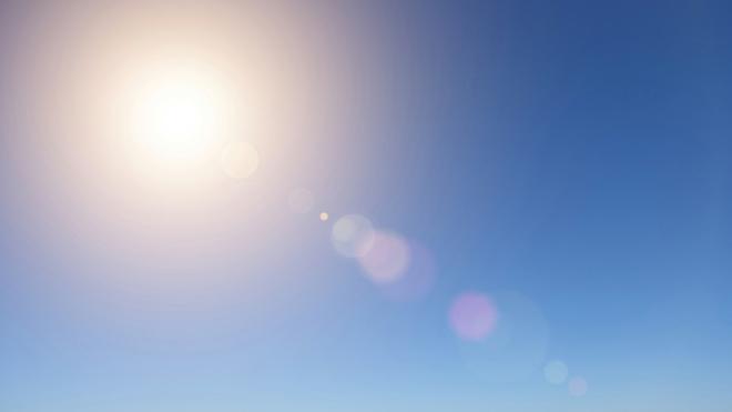 Sunny skies greet the weekend