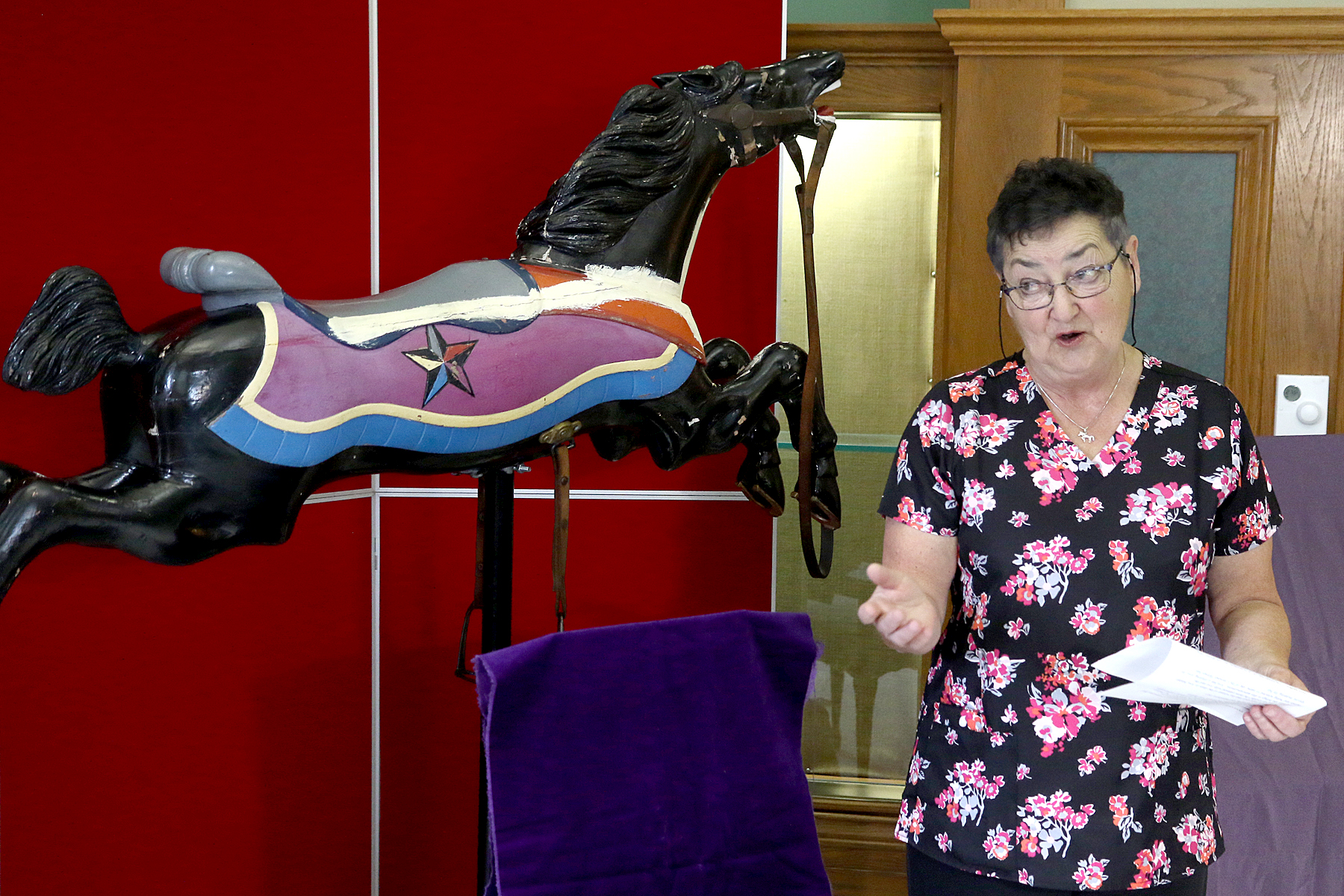 Nipigon woman earns right to name carousel horse - Tbnewswatch.com