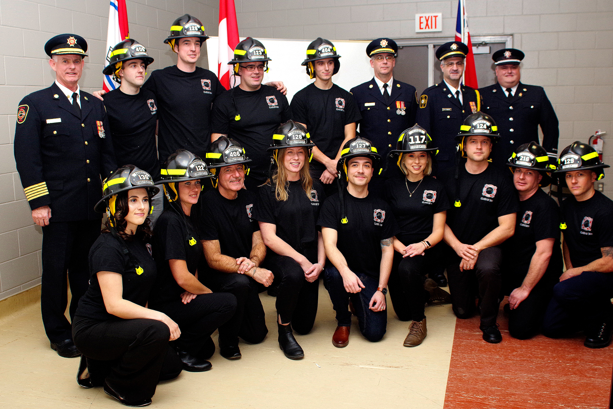 Thorold welcomes new firefighters (17 photos) - ThoroldNews.com