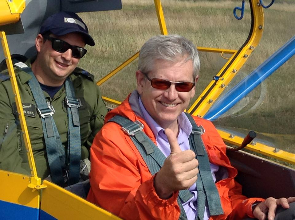 Angus questions feds on intentions for Iroquois Falls' air cadet glider program - TimminsToday