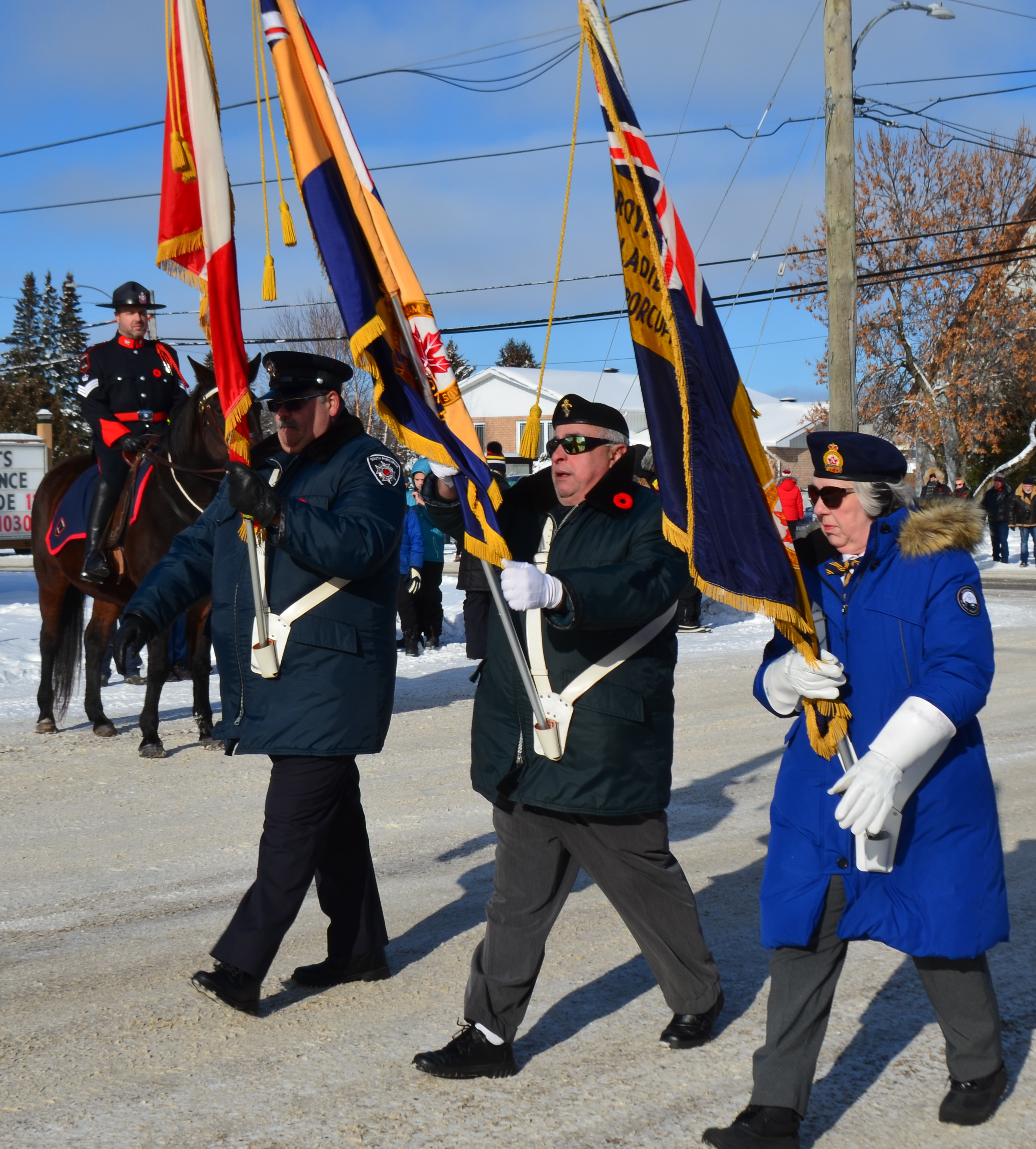Remembrance Day ceremony draws hundreds in South Porcupine (12 photos) - TimminsToday
